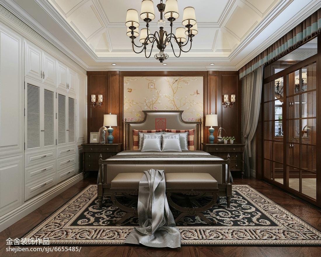 现代风格家装卧室设计