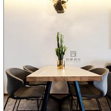 2018面积89平现代二居餐厅装修设计效果图片大全