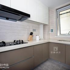 2018面积76平现代二居厨房装饰图