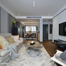 2018精选大小86平现代二居客厅装修图