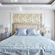 精美123平米四居卧室美式装修设计效果图片