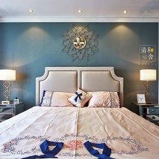 精选大小122平美式四居卧室装修图