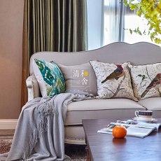 精美142平米四居客厅美式实景图片欣赏