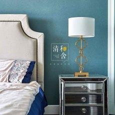 2018精选面积112平美式四居卧室装修图片欣赏