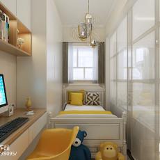 美式卧室装修效果图片大全2014