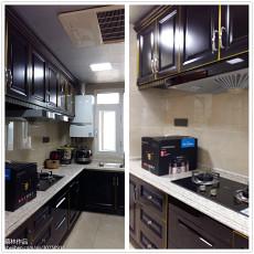 精美面积119平复式厨房简约装修设计效果图片
