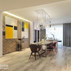 137平米四居餐厅现代装饰图片大全
