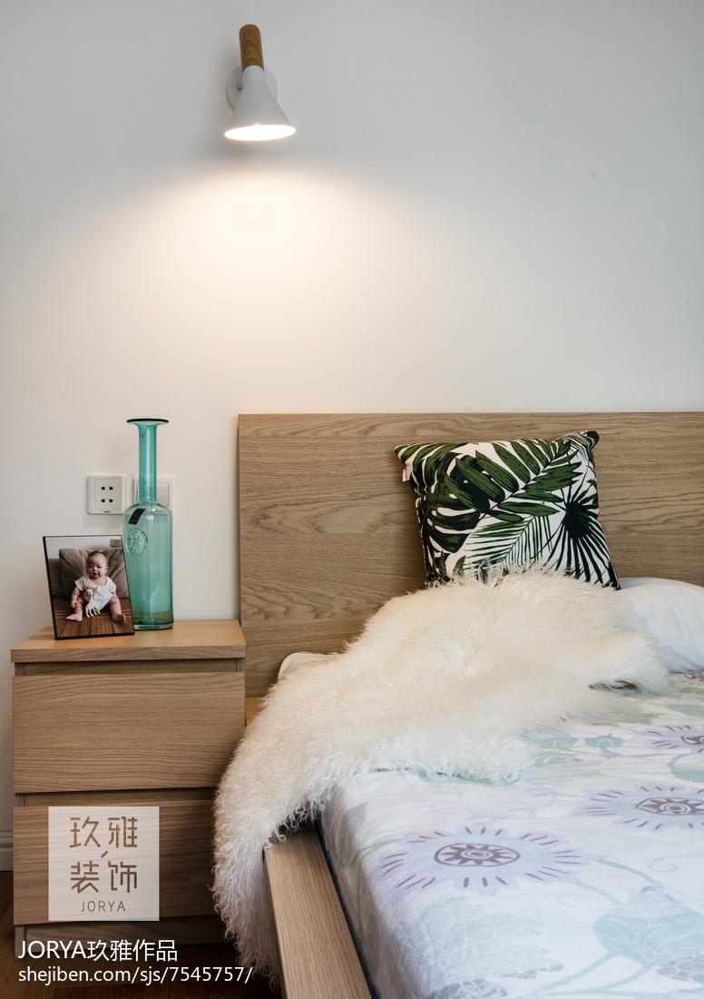 浪漫77平歐式二居臥室設計效果圖