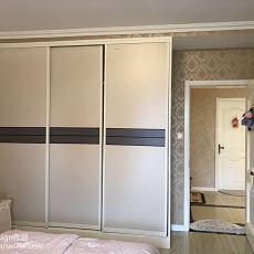 精美95平米三居卧室简欧效果图
