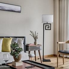 2018精选大小94平现代三居客厅设计效果图