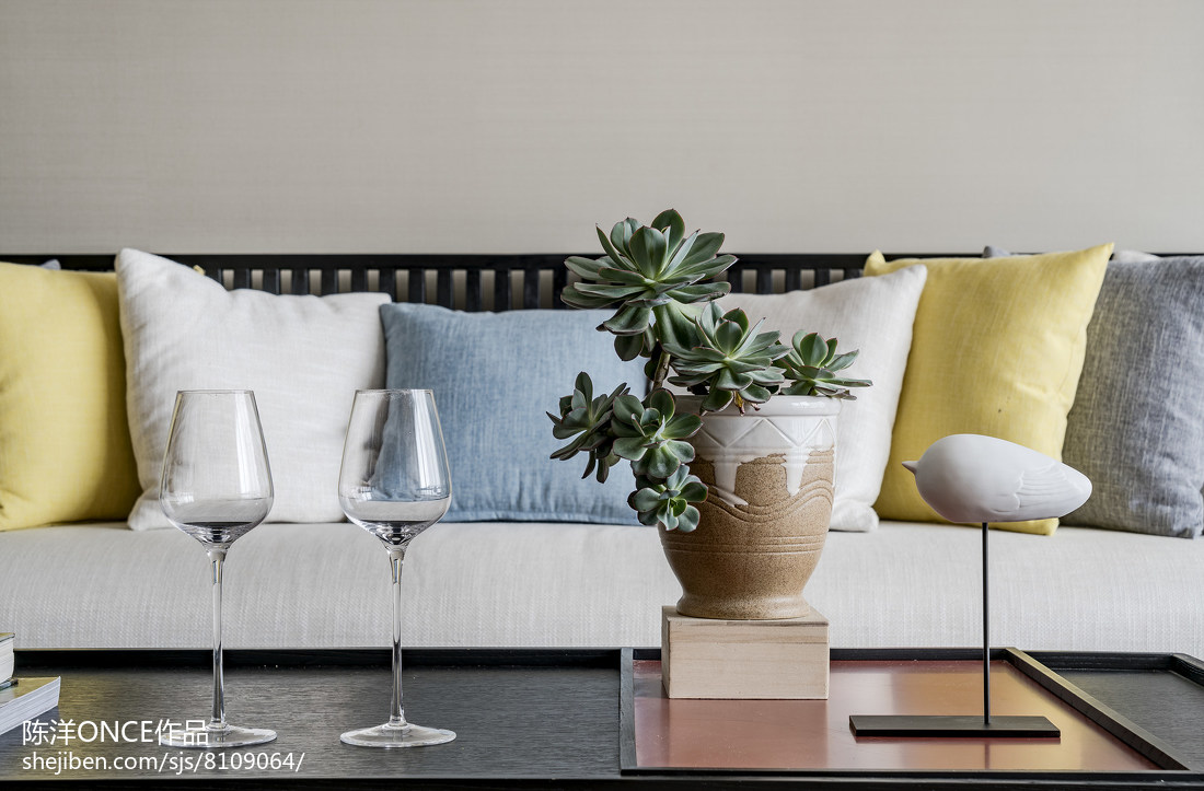 精选109平米三居客厅现代实景图片