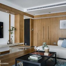 2018精选93平大小客厅三居现代装修效果图片大全