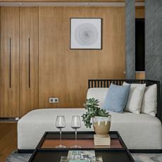 201890平大小客厅三居现代装修设计效果图片大全