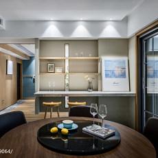 精美面积107平现代三居餐厅实景图片欣赏