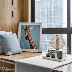 2018大小91平现代三居卧室装修实景图片大全