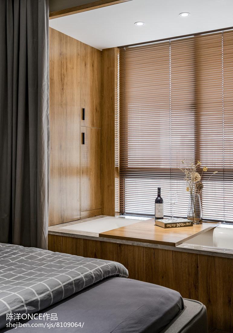 清新现代三居窗台设计图