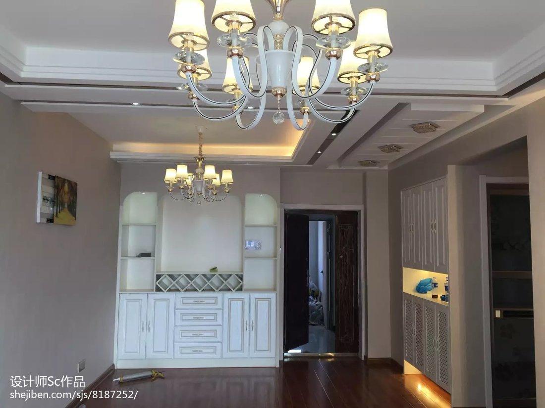 热门104平米三居餐厅现代设计效果图