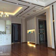 热门101平米三居餐厅现代装修设计效果图片欣赏