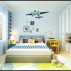 东南亚一居卧室装修图片欣赏