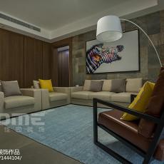 热门面积141平现代四居客厅装修实景图片欣赏