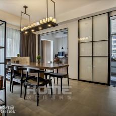 热门面积127平现代四居餐厅装修效果图片大全