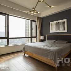 2018四居卧室现代装饰图片