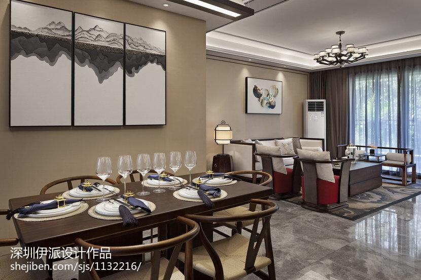 2018精选中式餐厅装修设计效果图片
