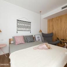2018面积106平日式三居卧室装饰图片