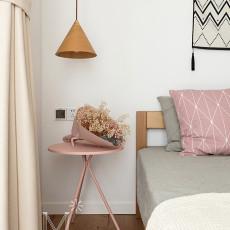 明亮74平日式三居卧室装修设计图
