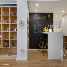 精美面积102平日式三居客厅装修设计效果图