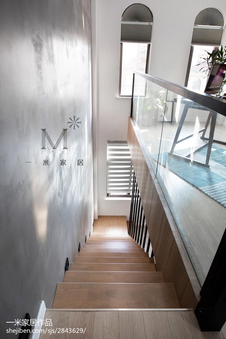 190m2 復式樓梯設計效果圖