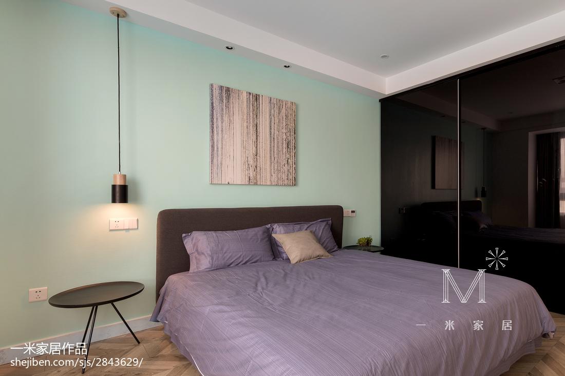 精美114平现代三居卧室设计美图