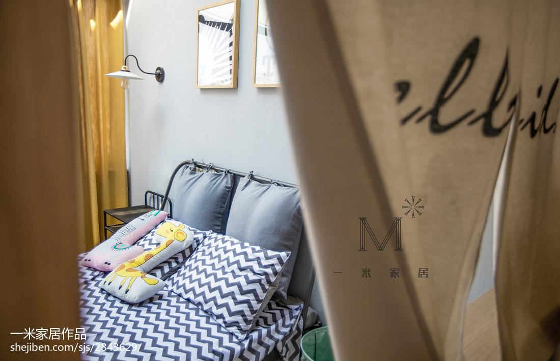 悠雅111平北欧三居儿童房装修美图