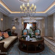 美式风格家居客厅电视柜效果图欣赏