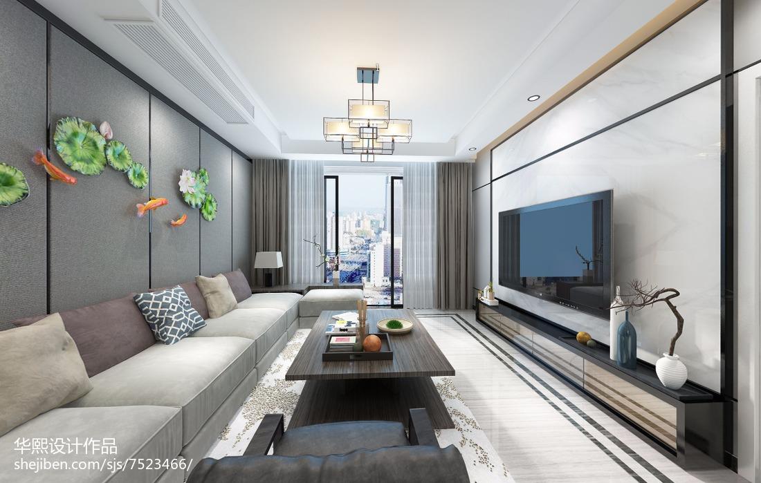 小复式楼室内客厅装修效果图