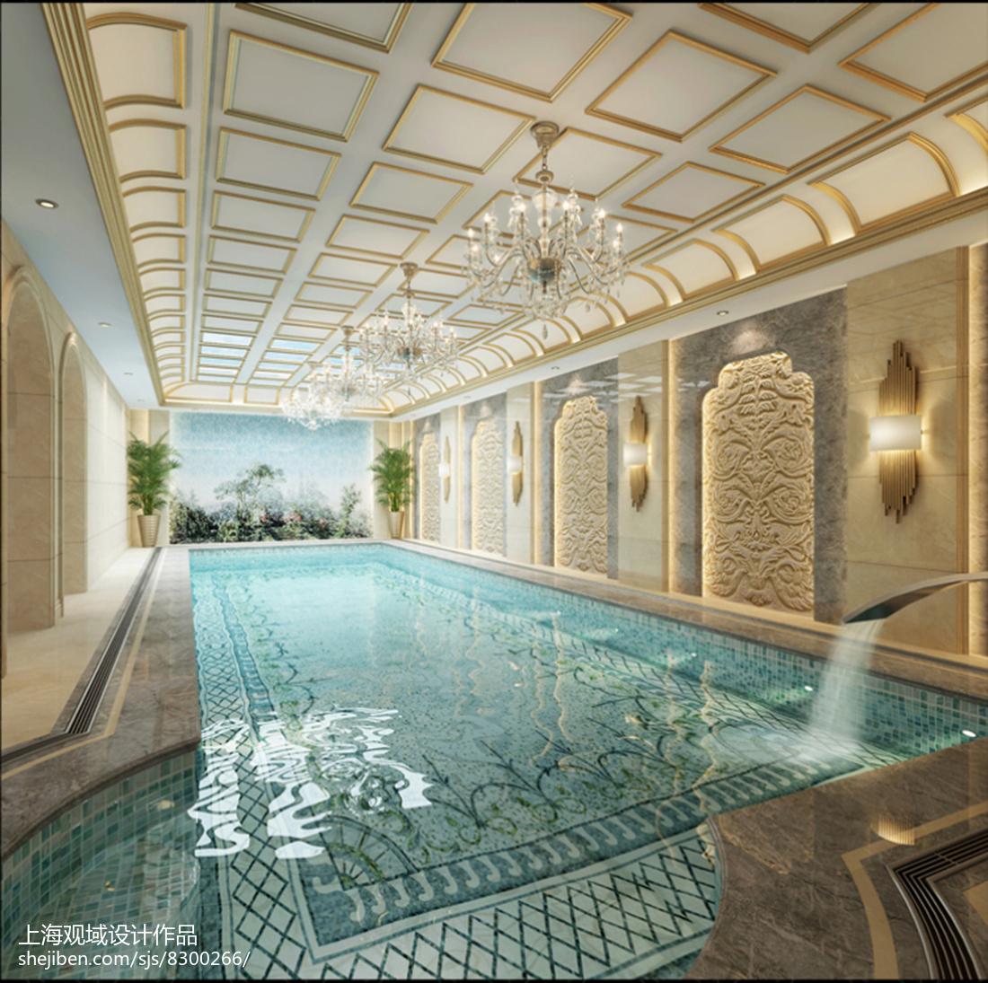 最新欧式古典度假别墅装修图片