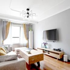 热门面积88平日式二居客厅装修设计效果图片