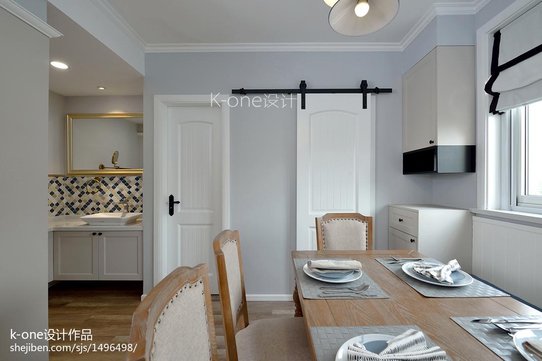 精选72平米二居餐厅简约设计效果图