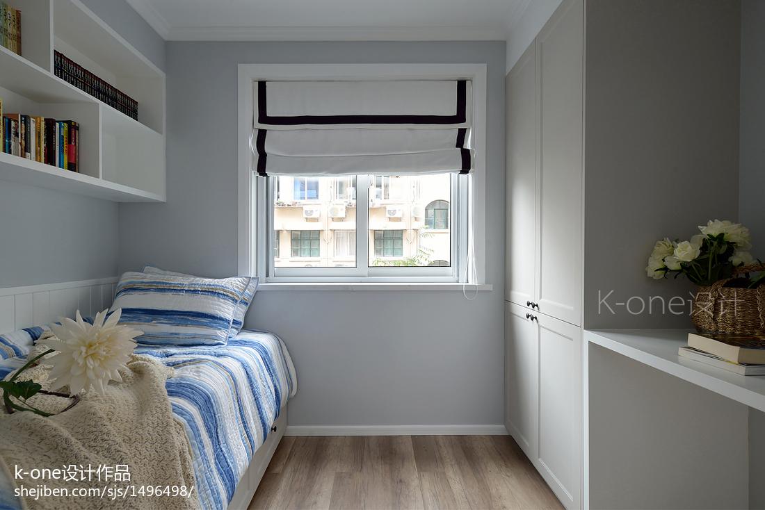 精美77平米二居儿童房简约效果图片
