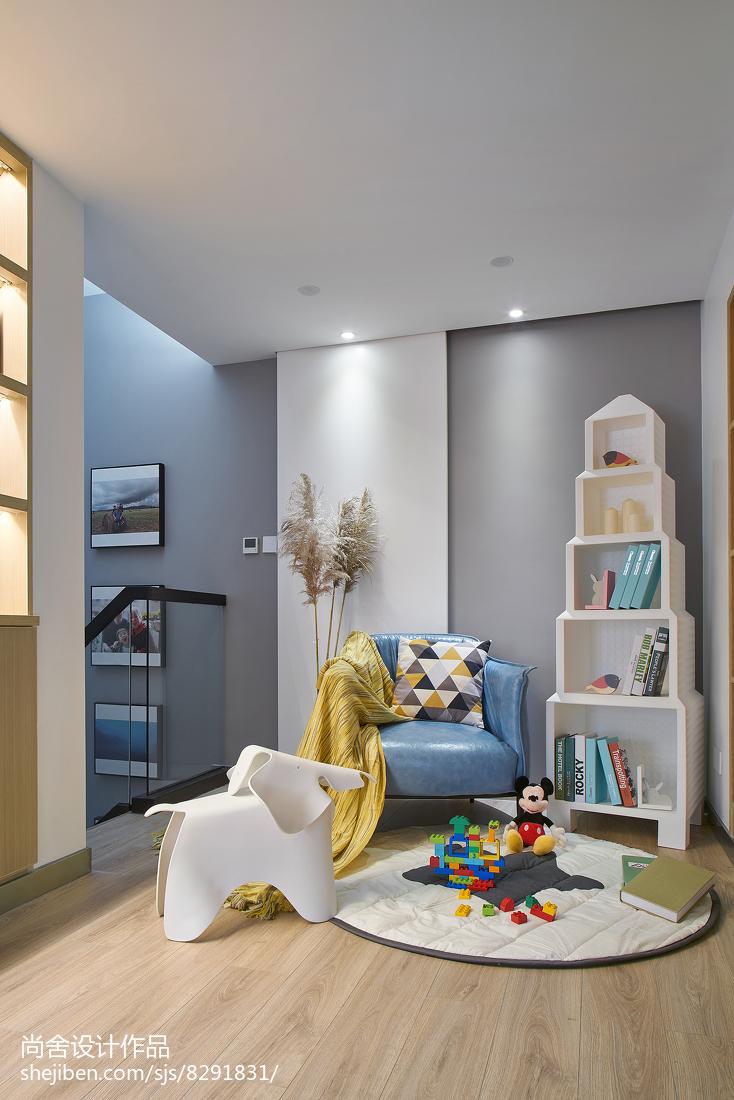 简洁103平简约三居休闲区装修设计图