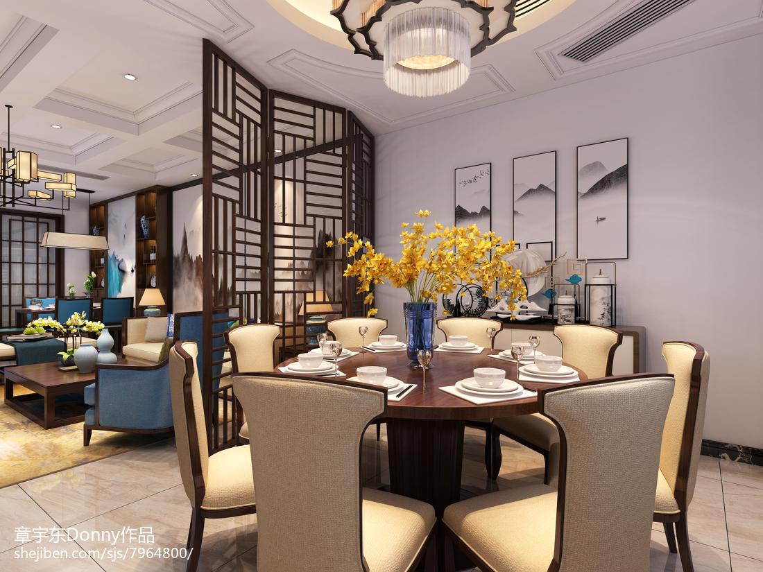 高雅欧式风格餐厅设计效果图