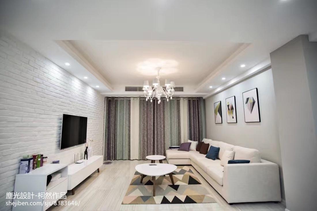 复式楼客厅装修设计图片