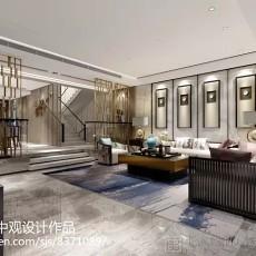 2018精选116平米中式别墅客厅欣赏图片大全
