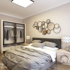 精美美式一居客厅实景图