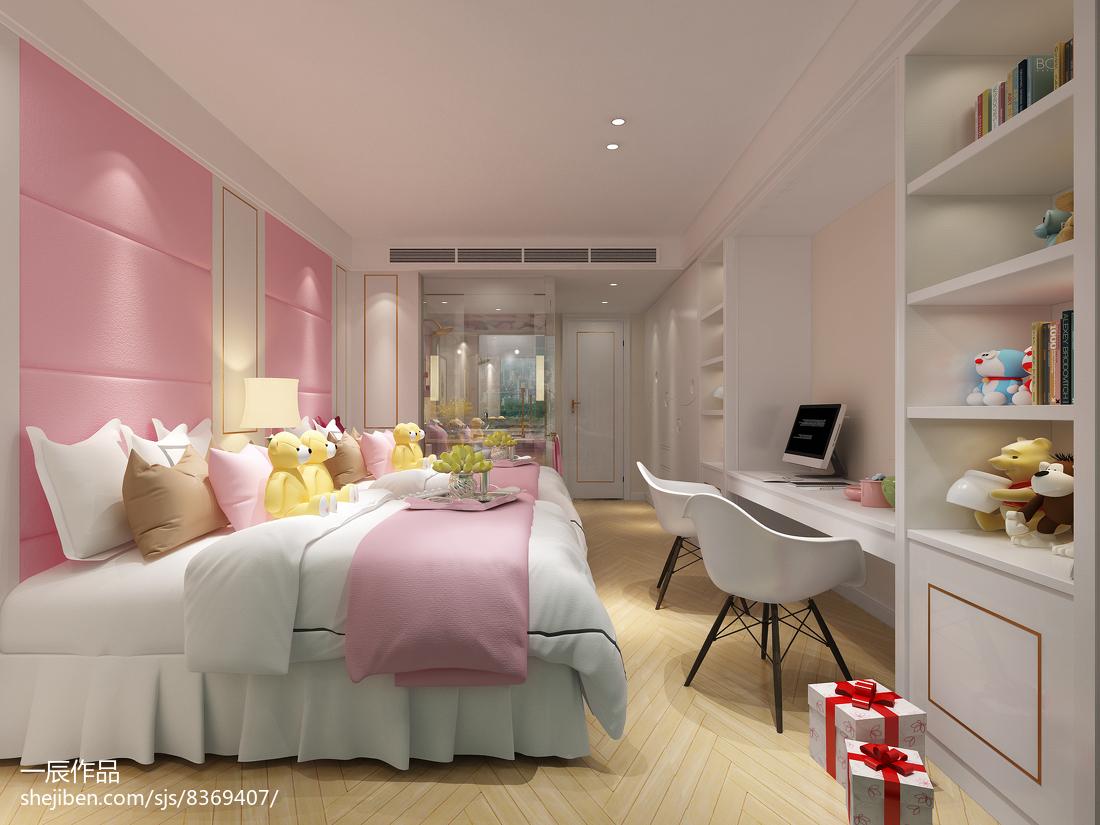 热门现代别墅卧室效果图片欣赏