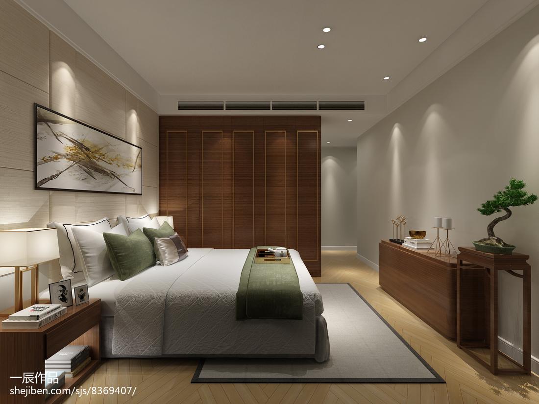 精选112平米现代别墅卧室装饰图片欣赏