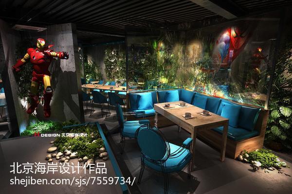 时尚现代中式客厅设计效果图