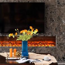 119平米美式别墅客厅装修设计效果图