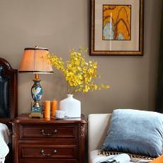 热门127平方美式别墅卧室装修设计效果图片欣赏
