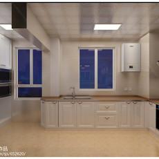 热门现代四居厨房效果图片